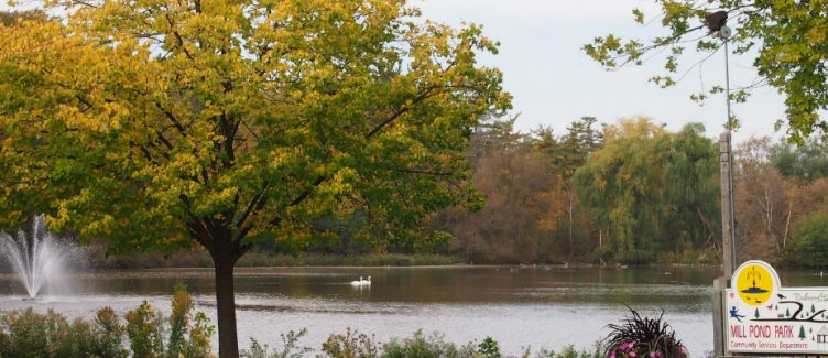 image of Mill Pond Park in Richmond Hill