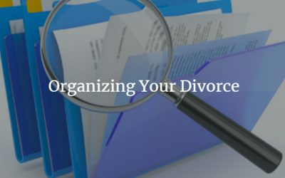 How to Organize your Divorce